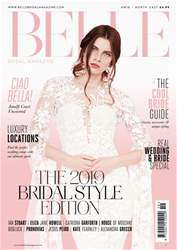 Belle Bridal Magazine Magazine Cover