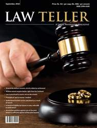 Lawteller – A Legal Awareness Magazine issue September 2018