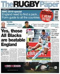 The Rugby Paper issue 16th September 2018