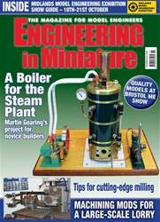 Engineering in Miniature issue October 2018