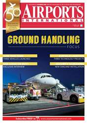 Airports International issue  October 2018