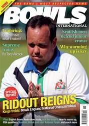 Bowls International issue   October 2018