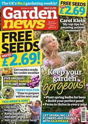Garden News issue 22nd September 2018