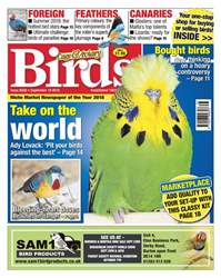 Cage & Aviary Birds issue 19th September 2018