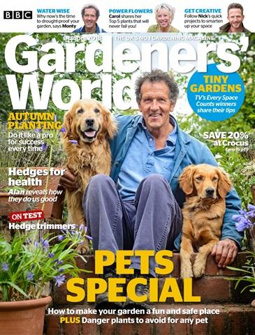 Gardeners' World issue October 2018