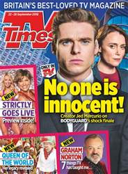 TV Times issue 22nd September 2018
