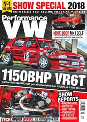Performance VW issue Autumn 2018