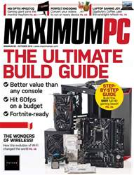 Maximum PC issue October 2018