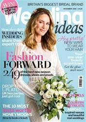 Wedding Ideas magazine issue November 2018
