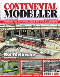 Continental Modeller issue October 2018