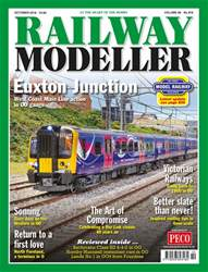 Railway Modeller issue October 2018