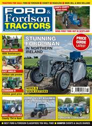 Ford & Fordson Magazine Cover