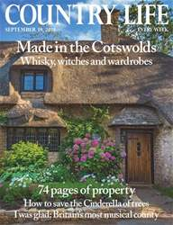 Country Life issue 19th September 2018