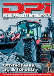 Diesel Progress International Magazine Cover