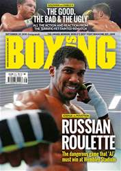 Boxing News issue 18/09/2018