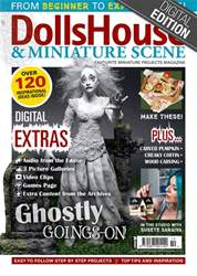 Dolls House and Miniature Scene issue Oct-18