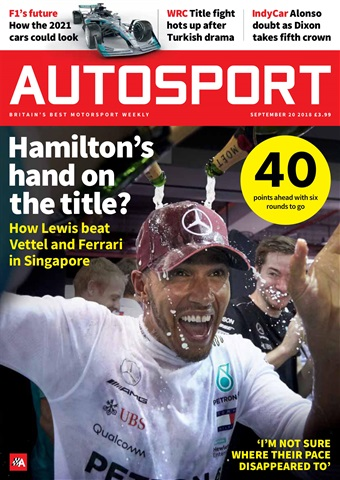 Autosport issue 20th September 2018