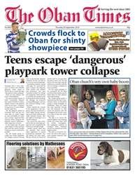 The Oban Times & Lochaber Times issue 20th September 2018