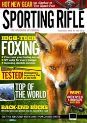 Sporting Rifle issue September 2018