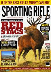 Sporting Rifle issue October 2018
