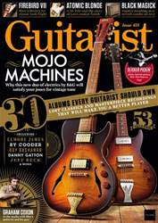 Guitarist issue October 2018