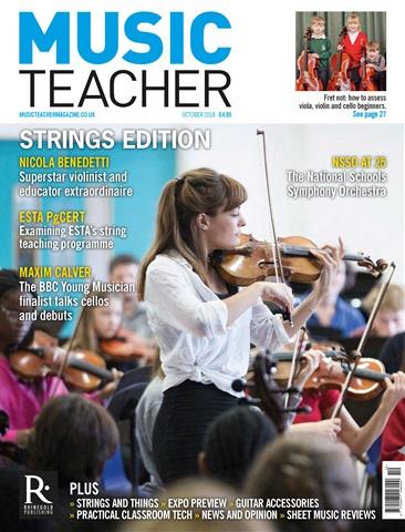 Music Teacher issue October 2018