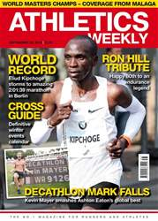Athletics Weekly issue 20 September 2018