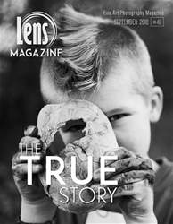Lens Magazine issue Issue #48. September 2018. The TRUE Story