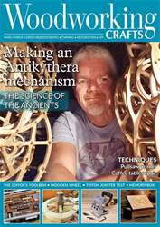 Woodworking Crafts Magazine issue October 2018