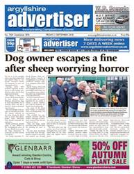 Argyllshire Advertiser issue 21 September 2018