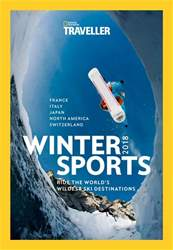 National Geographic Traveller (UK) issue Winter Sports 2018