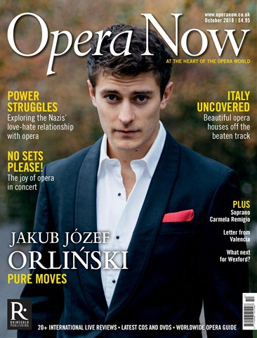 Opera Now issue October 2018