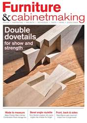 Furniture & Cabinetmaking Magazine Cover