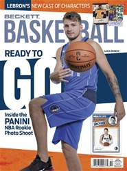 Beckett Basketball issue October 2018