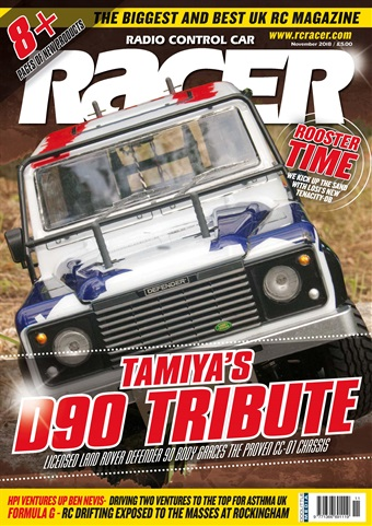 Radio Control Car Racer issue November 2018