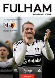 Fulham FC issue Fulham Vs Watford 2018/19