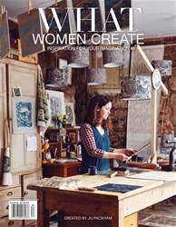 What Women Create issue OCT/NOV/DEC 2018