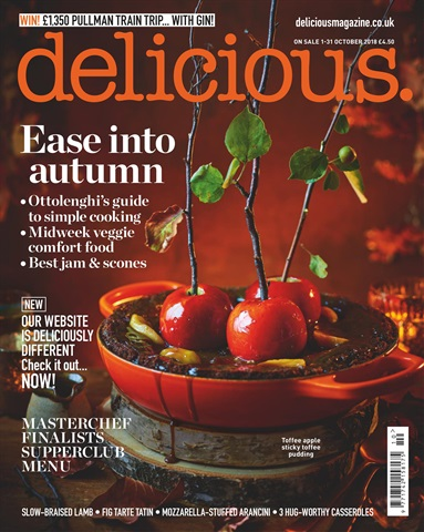 Delicious Magazine issue October 2018
