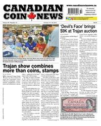 Canadian Coin News issue V56#14 - October 16