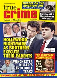 True Crime issue True Crime October 2018