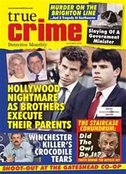 True Crime October 2018 issue True Crime October 2018