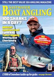 Saltwater Boat Angling issue Oct-18