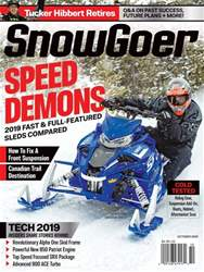 SnowGoer issue Snow Goer October 2018