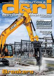 Demolition & Recycling International Magazine Cover