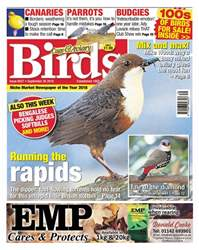 Cage & Aviary Birds issue 26th September 2018