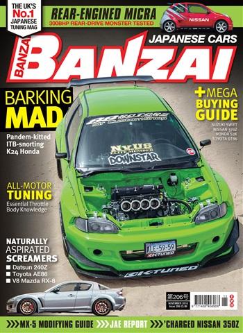 Banzai issue November 2018
