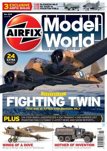 Airfix Model World issue   November 2018