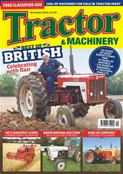 Tractor & Machinery issue November 2018