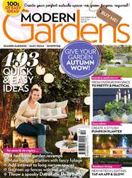 Modern Gardens issue October 2018