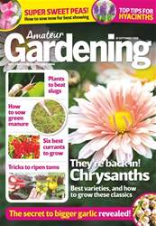 Amateur Gardening issue 29th September 2018